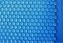 Пузырьковое покрытие синее
